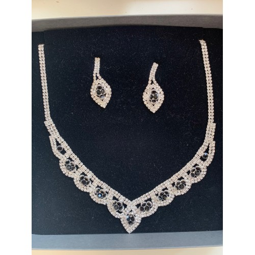 COLLIER STRASS COULEUR