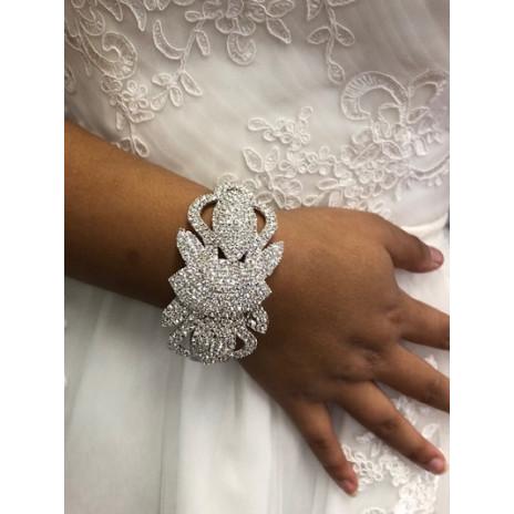 Bracelet strass rigide