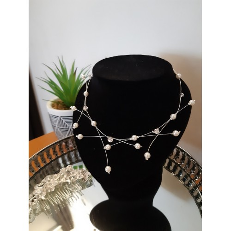Collier perles 01
