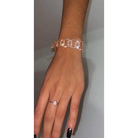 Bracelet motif strass