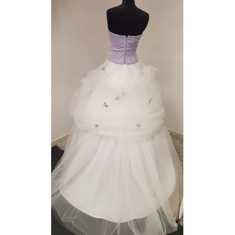 Ensemble bustier jupe Violette